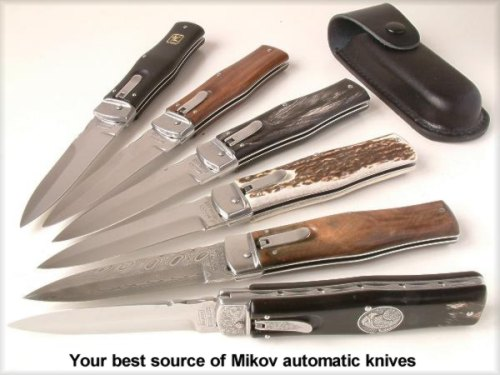 Your best source of Mikov automatic knives